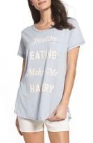Junk Food Clothing Women's Healthy Eating Lounge Tee