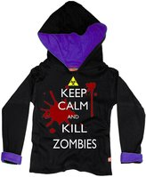 Stardust Call Of Duty Inspired Keep Calm & Kill Zombies Kids Hoody
