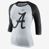 Nike College Tri Raglan (Alabama) Women's 3/4 Sleeve T-Shirt