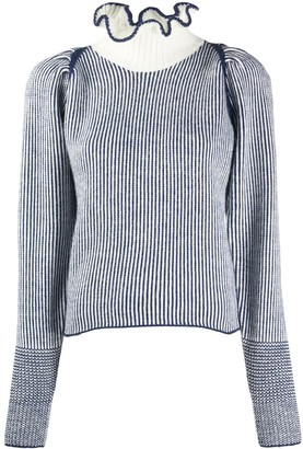 See by Chloe Ruffle-Trim Jumper