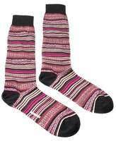 Missoni Gm00cmu5236 0002 Pink/wine Knee Length Socks.