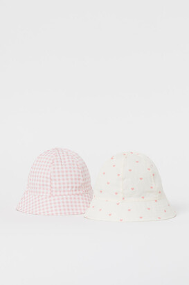 H&M 2-Pack Cotton Sun Hats