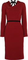Roland Mouret Angel crepe dress