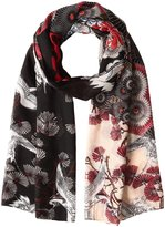 Desigual Women's Rectangle Japanfresh Foulard Scarf
