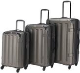 Graphite Vortex Spinner Three-Piece Luggage Set
