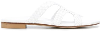 Stuart Weitzman Sarita woven-strap sandals