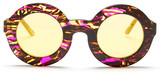 Wildfox Couture Women&s Twiggy Deluxe Round Sunglasses