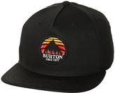 Burton Underhill Snapback Cap Black
