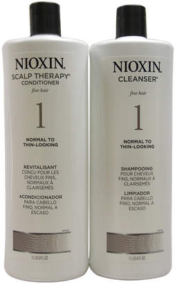 Nioxin System 1 Cleanser & Scalp Therapy Conditioner Set