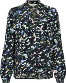 Nümph Sapphire Numandara Shirt - 7519002 - 38 | viscose | sapphire - Sapphire