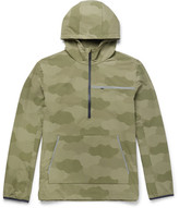 A.P.C. + Outdoor Voices Camouflage-print Ripstop Hooded Jacket