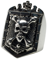 Femme Metale Jewelry Pirates Crest Ring