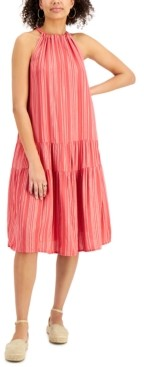 Style&Co. Style & Co Tiered Midi Dress, Created for Macy's