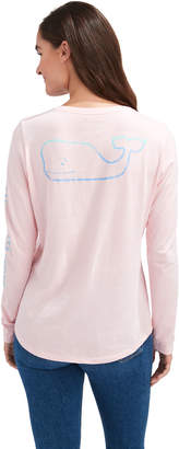 Vineyard Vines Gradient Vintage Whale Slub Long-Sleeve Tee