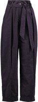 Temperley London Voyage cotton-blend corduroy tapered pants