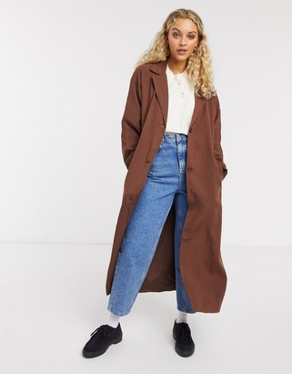 Weekday Amaya Trench Coat