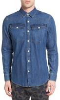 G Star Men's 3301 Denim Western Shirt
