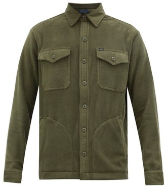 Polo Ralph Lauren Patch-pocket Fleece Shirt - Khaki