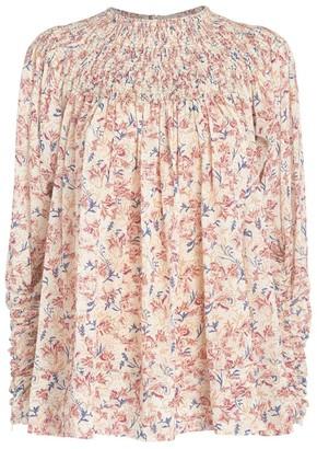 Chloé Floral Print Top