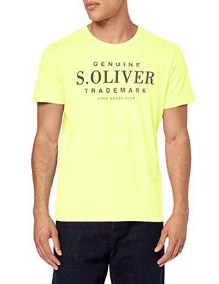 S'Oliver Men's 20.905.32.4467 T-Shirt, (Roof Grey 9500), X-Large