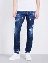 DSQUARED2 Slim-fit stretch-denim jeans