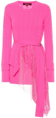 Sies Marjan Trine wool and cashmere sweater