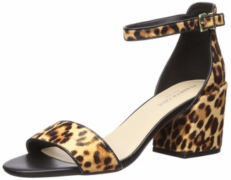 Kenneth Cole New York Women's Hannon Block Heeled Sandal with Ankle Strap