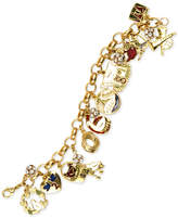 Charter Club Holiday Lane Gold-Tone 12 Days Charm Bracelet, Created for Macy's