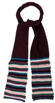 M Missoni Merino Wool-Blend Striped Scarf