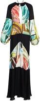 Rosie Assoulin bohemian maxi dress, multicolor