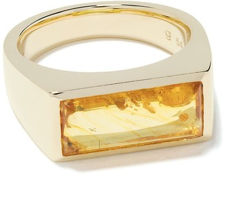 Tom Wood 9kt yellow gold Peaky ring