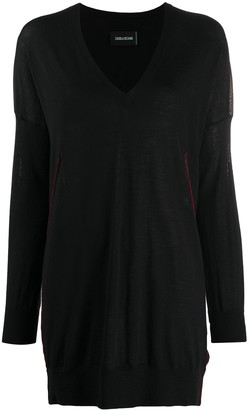 Zadig & Voltaire Loose Fit Knitted Top