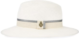 Christys London Christys' London Classic Downbrim Straw Panama Hat