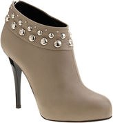 Studded Ankle Boot - Taupe