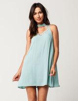 Hip Lace Cutout Dress