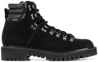 Valentino Padded-Ankle Boots