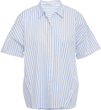 Joie Striped Cotton-broadcloth Shirt