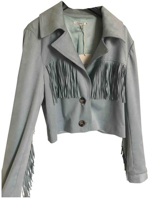 Tularosa Blue Suede Jacket for Women