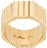 I.V.I. octagon-shaped ring