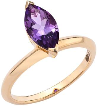 Stephen Webster Yellow Gold and Amethyst Gemstone Jitterbug Stacking Ring