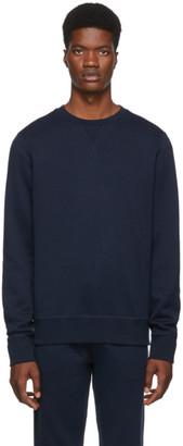 Ralph Lauren Purple Label Navy Madison CN Polo Sweatshirt