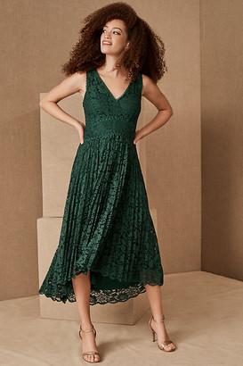 BHLDN Perri Dress By in Green Size 14