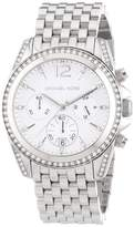 Michael Kors MK5834 Stainless Steel wDiamonds White Dial Quartz 39mm Women