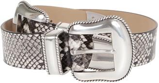 B-Low the Belt Cintura Rouge Python