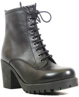 Chelsea Crew Energy Leather Lace-Up Bootie