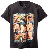 WWE Boys 8-20 9 Faces Tee