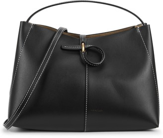 Wandler Ava mini black leather tote