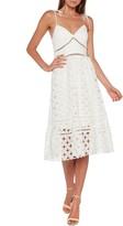Bardot Louisiana Embroidered Lace Dress
