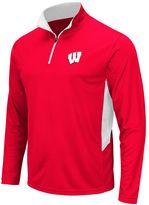 Men's Campus Heritage Wisconsin Badgers Hardy 1/4-Zip Pullover