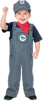 Ultimate Halloween Costume UHC Little Boys Train Engineer Outfit Toddler Kids Fancy Dress Halloween Costume